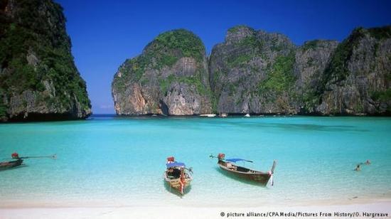 中国游客青睐泰国旅游。(德国之声电台网站)