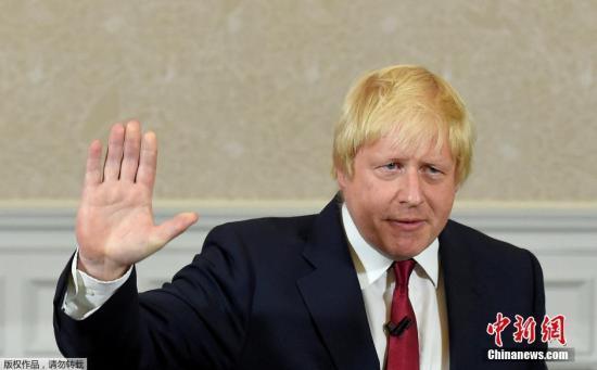 英国外长鲍里斯·约翰逊