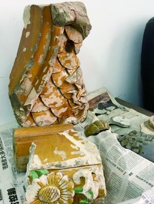 大宫门附近的这一个琉璃构件,经历了一段跌宕起伏、又深埋地下多年后,终得回归故园。