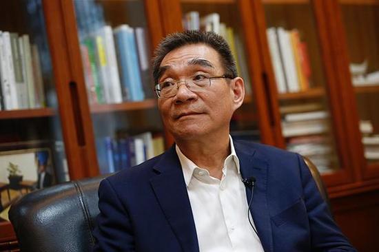 北京大学新结构经济学研究中心主任林毅夫  视觉中国 资料图