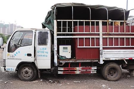 改装后的货车 本组图片由通讯员 杨寿兵 摄