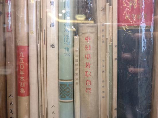 陈毅收藏的音乐类书籍等