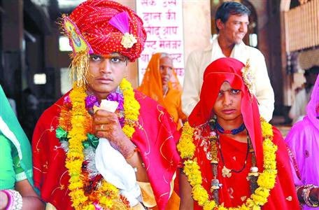印度童婚現象嚴重