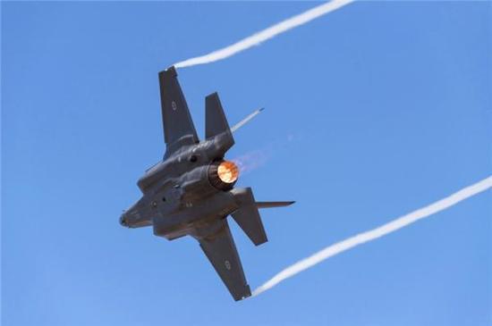 F-35战斗机。中国军网 资料图