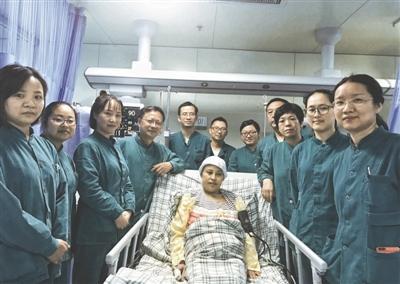 参与急救的成都市妇女儿童中心医院ICU医护人员 受访者供图