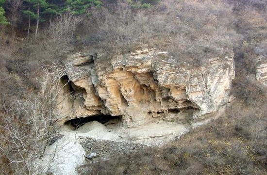 田园洞遗址外观图 受访者供图