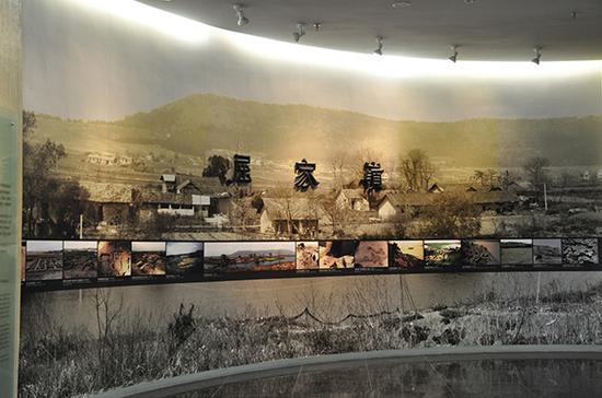 湖北省博物馆内展出的屈家岭文化遗址。视觉中国 资料