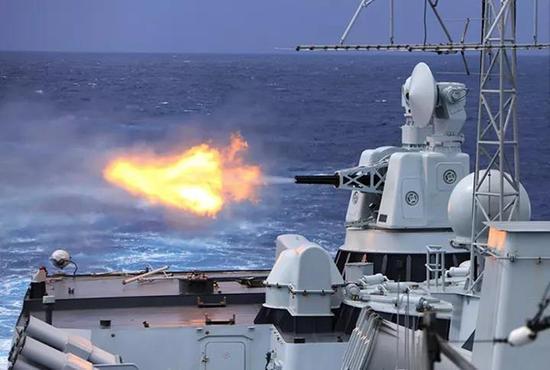 编队联合会见使命在远海大洋开展多科目训练
