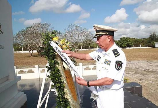 编队指挥员沈浩整理坦赞铁路专家公墓挽联