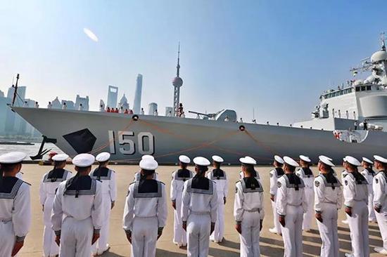 编队4月23日从上海启航