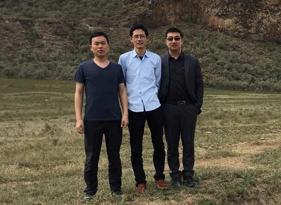 马搏、段晓飞、宫智武(从左至右)