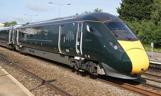 由日立铁路欧洲公司为英国生产的新型高铁