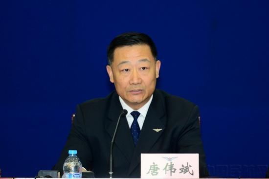 中国民用航空局航空宁静办公室主任 唐伟斌(图片泉源:民航局网站)