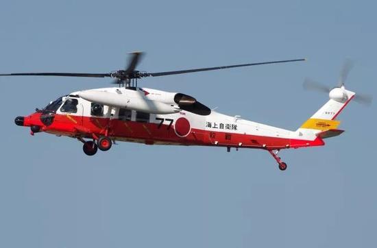 ▲日本海上自卫队UH-60J直升机