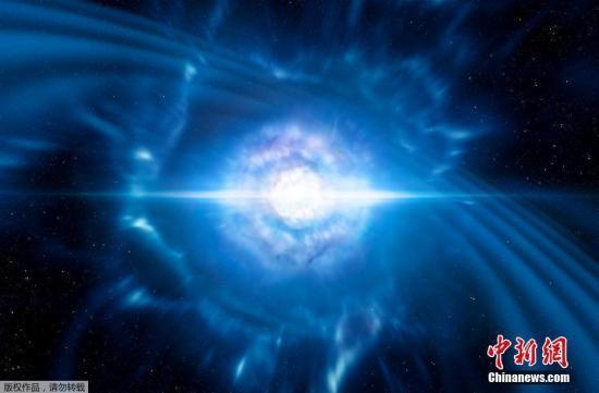 """欧洲南方天文台(ESO)16日就在网站发布了用天文望远镜""""看到""""的引力波之光。ESO的望远镜首次探测到引力波对应的光学信号,并在网站上公布了捕捉到的引力波之光画面。"""