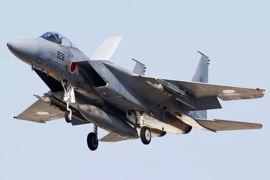 ▲日本空自F-15J战机