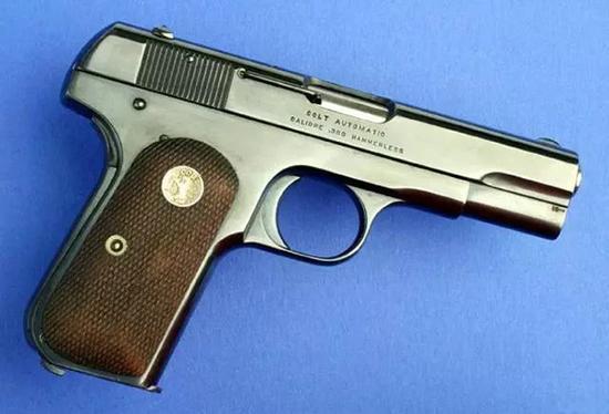 勃朗宁M1903式手枪