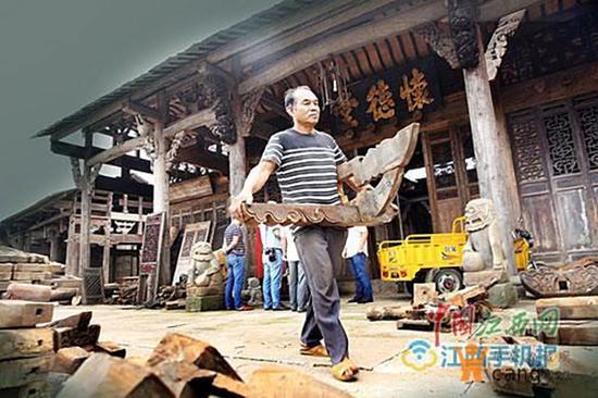 翻修一新的古屋已经被人订购。中国江西网 图