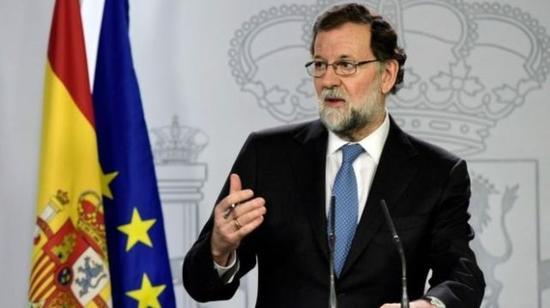 西班牙首相宣布解散加泰罗尼亚议会