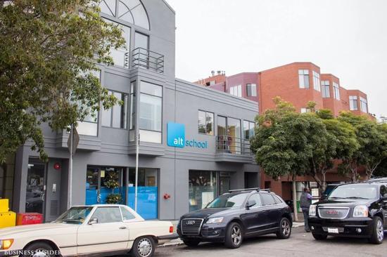 ▲位于旧金山的第一所AltSchool外观。图据《商业内幕》