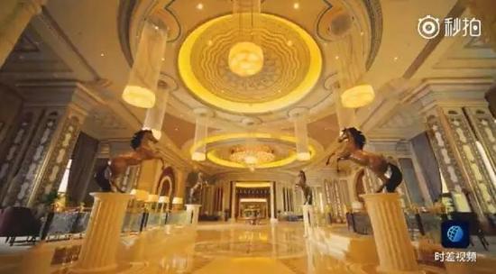 丽思卡尔顿酒店 图片来源:梨视频截图