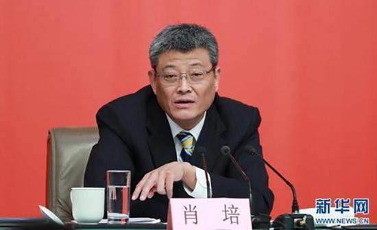 中央纪委副书记肖培  新华网 资料图