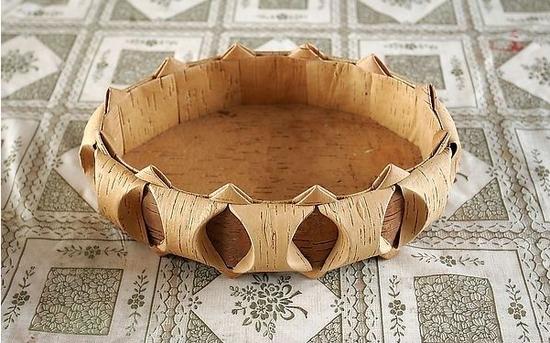 桦树皮工艺品
