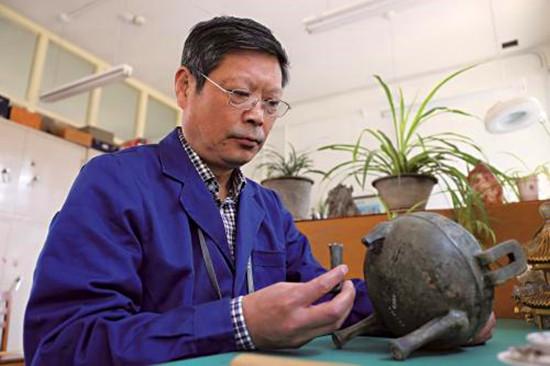 青铜器修复及复制技艺