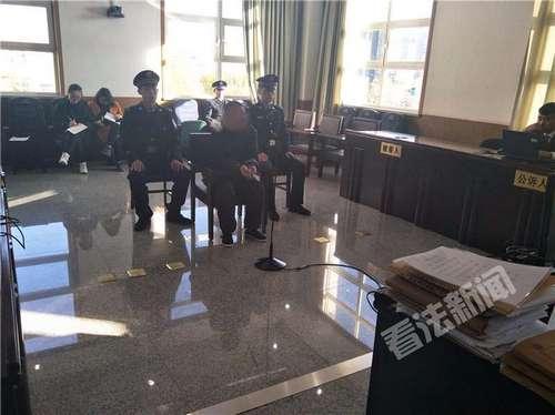 图为庭审现场。 摄/记者 李夏