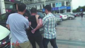 警方在揭阳市抓获潜逃22年、已更改名字的重大逃犯林某鑫。