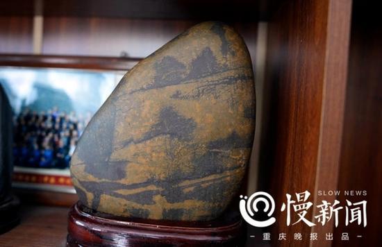 罗长国收藏的奇石