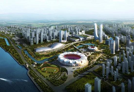 杭州奥体博览城(效果图)
