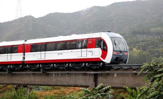 北京磁悬浮S1线。 东方IC 资料