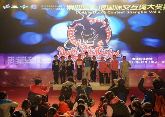 本届上海市民大联赛中,跳绳比赛也吸引了众多关注。