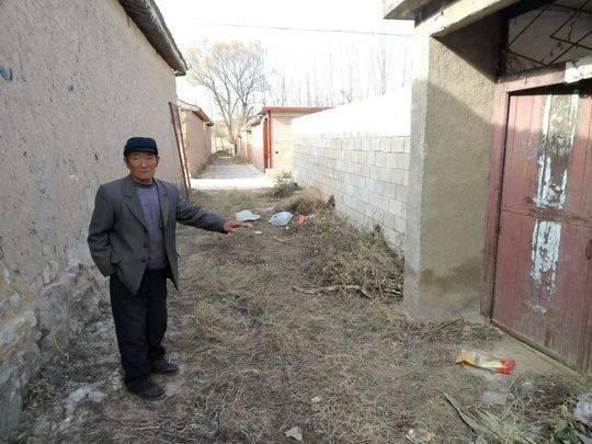 冀鹏在张家庄村的旧宅早已无人居住