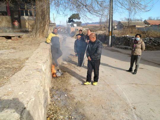 张家庄村的村民