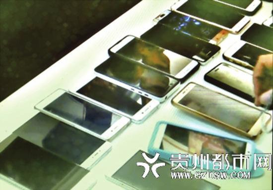 多名嫌疑人手机里储存大量公民信息。