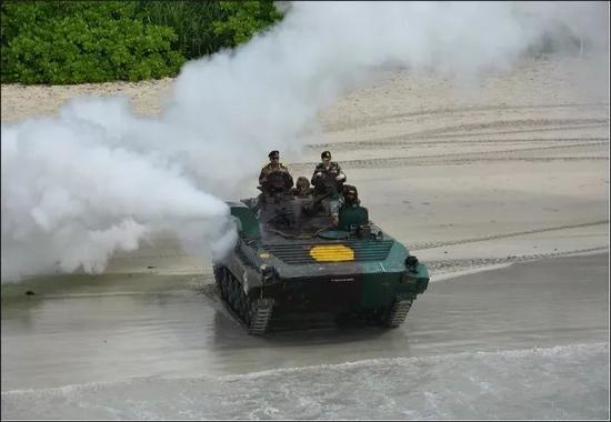▲11月20日-24日,印度在安达曼-尼科巴群岛举行大型军演。