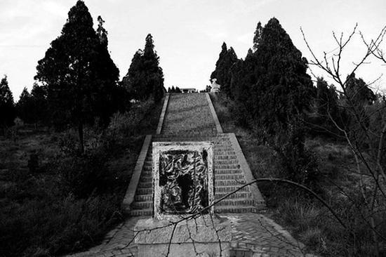 韦贵妃墓。 本文图片均来自三秦都市报