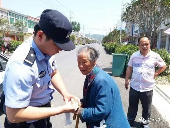 ↑来源:庐江县公安局通联照片