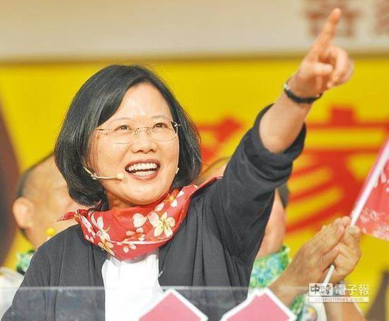 蔡英文(《中国时报》资料照)