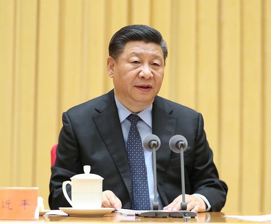 5月18日至19日,全国生态环境保护大会在北京召开。中共中央总书记、国家主席、中央军委主席习近平出席会议并发表重要讲话。 新华社记者 王晔 摄 图片来源:新华网