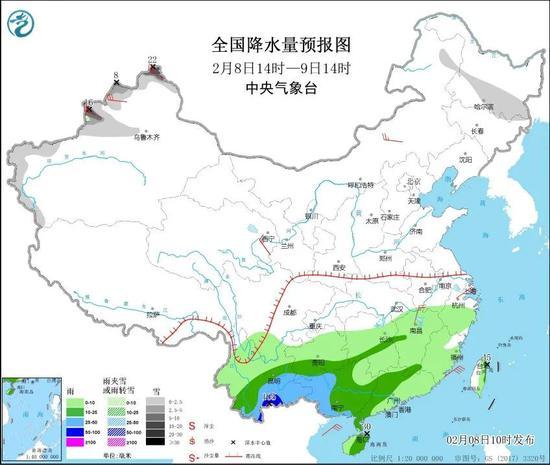 南方地区出现大范围降雨有利气象干旱缓解 专家解读图片