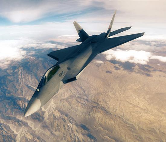 土耳其TAI公司宣布的TFX战役机假想图