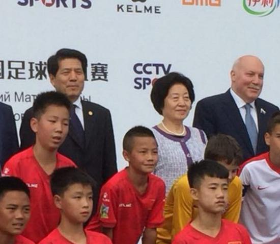 世界杯现场 中国领导人首次出席