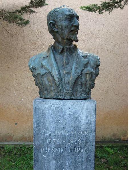 弗拉迪米尔•纳佐尔塑像