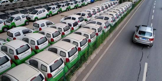 ▲电动汽车行业在中国蓬勃发展。(法新社)