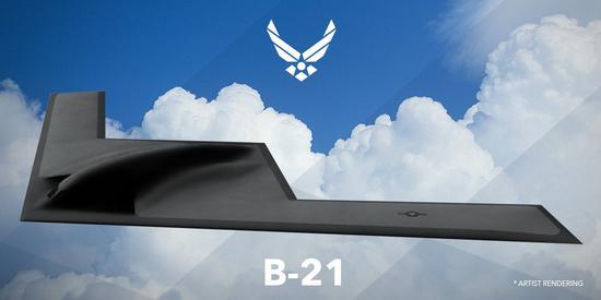 B-21是美国下一代隐身轰炸机方案