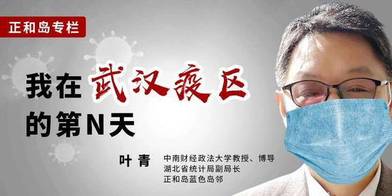 """对话写""""封城日记""""的叶青:分管医疗卫生领域领导要懂医图片"""