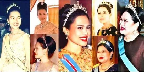 ·诗丽吉曾戴过的王冠。